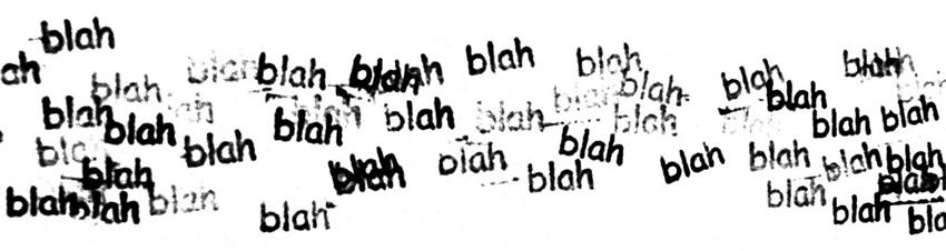 blahblahblah